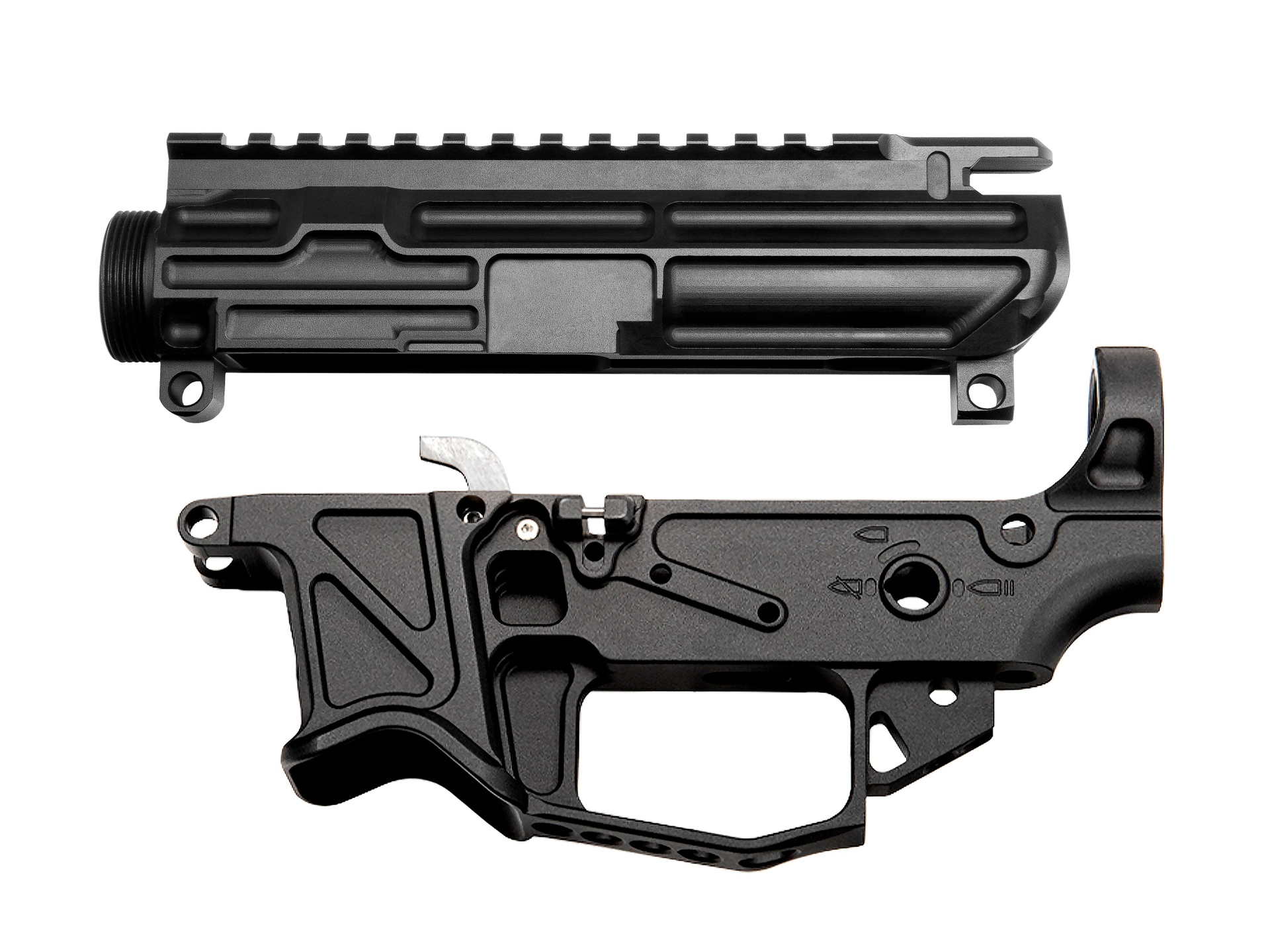 BAD-GS Glock Style Lightweight Billet Upper and Lower Receiver Set