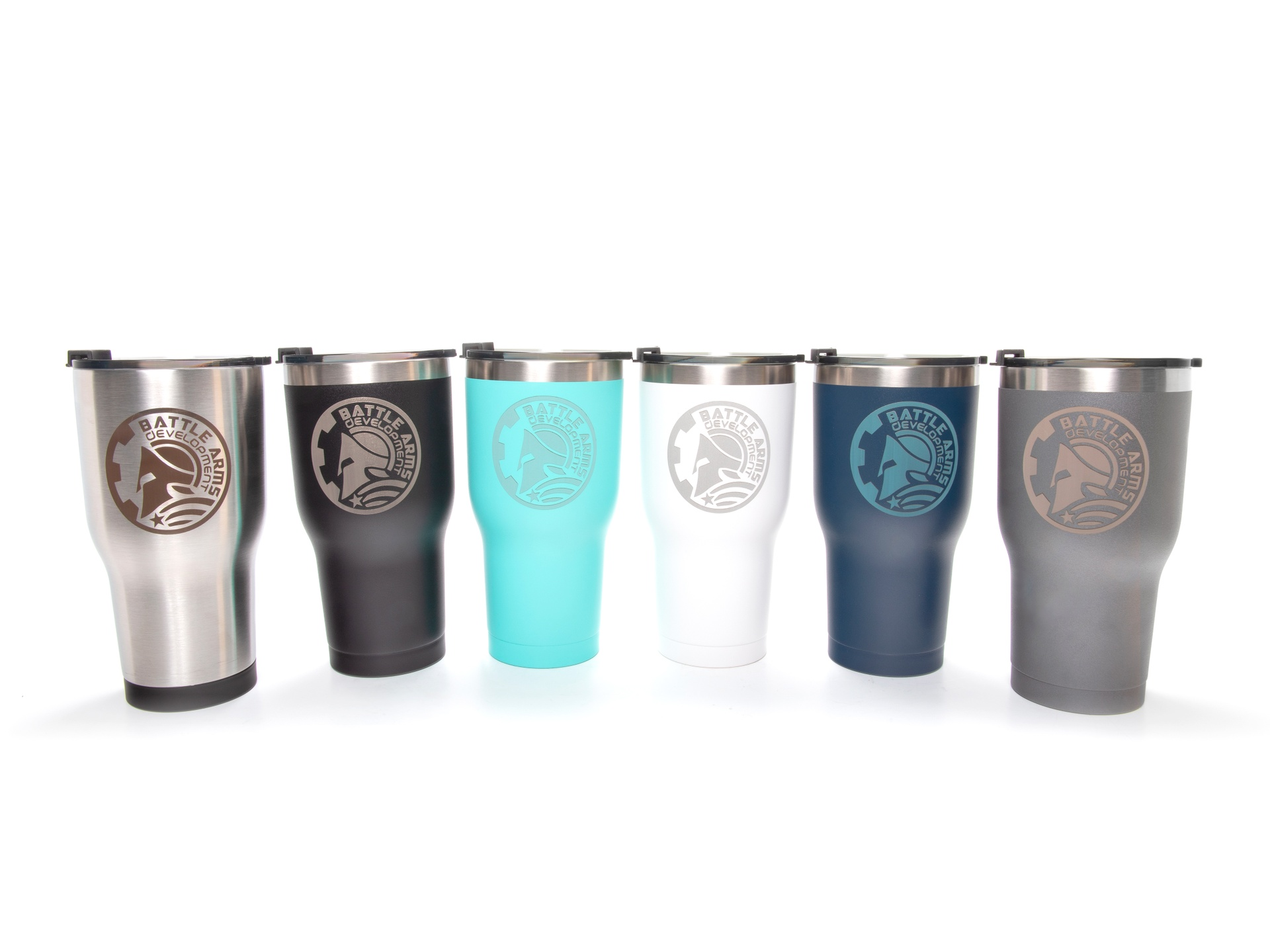 BATTLEARMS® RTIC® 30oz Laser Engraved Tumbler