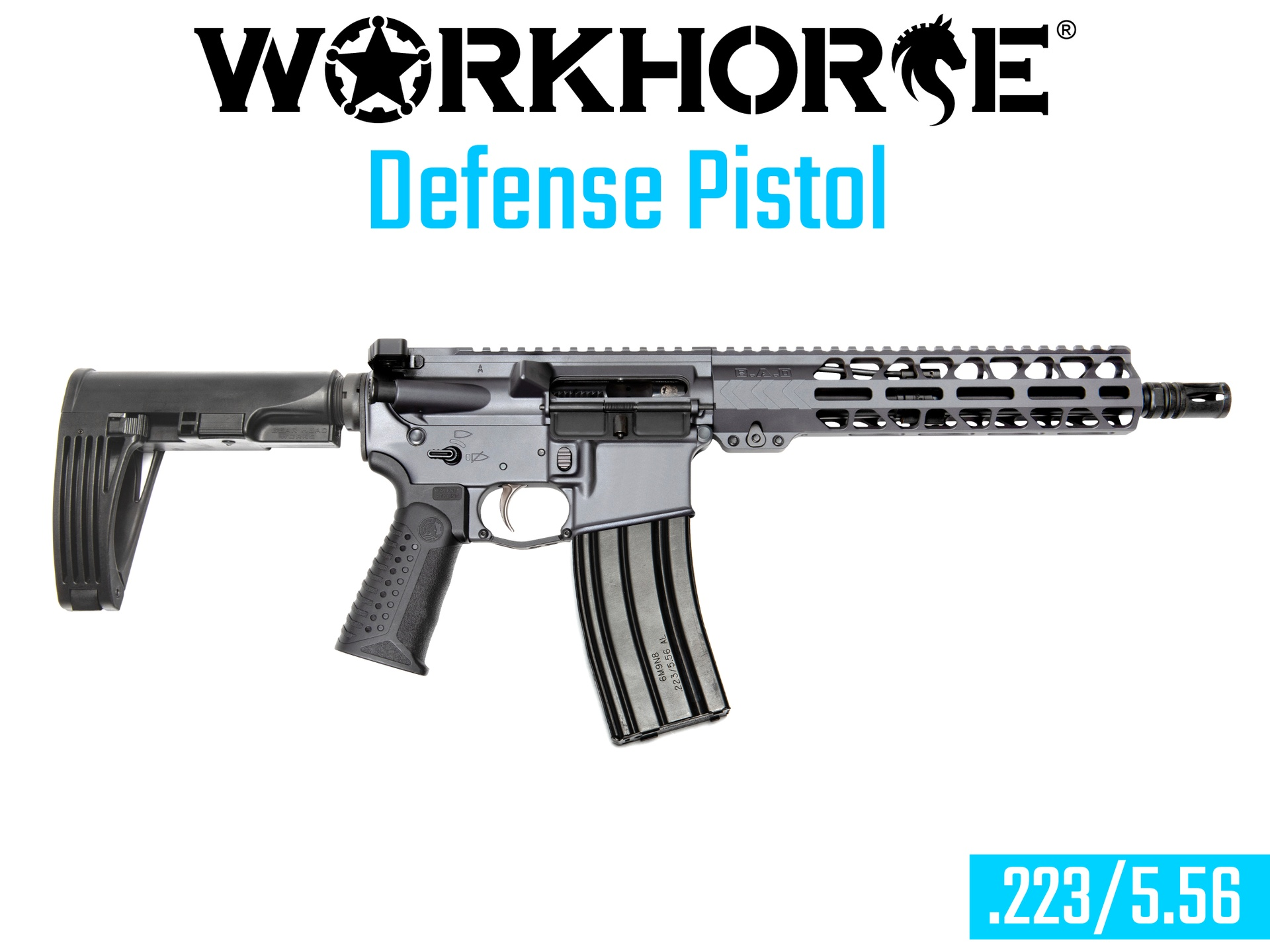 WORKHORSE® DEFENSE PISTOL