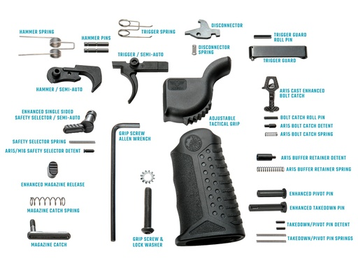 [BAD-LPK-PKX] BATTLEARMS® Enhanced Complete Lower Parts Kit
