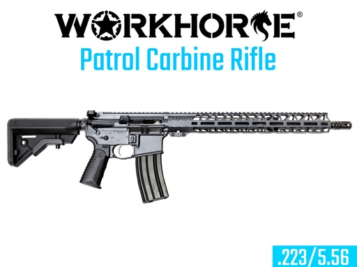 [WORKHORSE-010] WORKHORSE® PATROL CARBINE RIFLE
