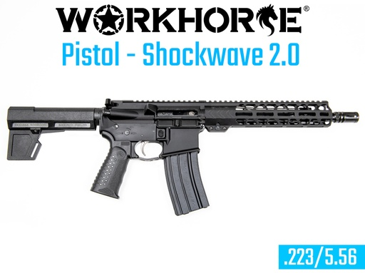 [WORKHORSE-019] WORKHORSE® PISTOL - SHOCKWAVE 2.0